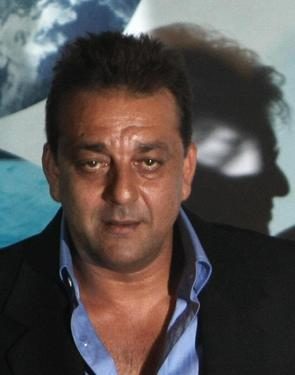 Sanjay Dutt at the press conference of &quot;Blue.&quot;